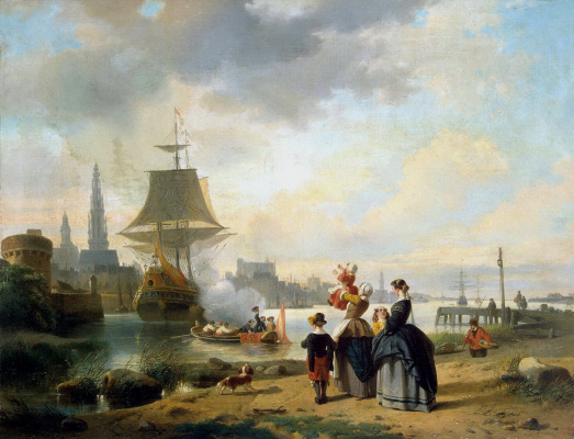 Jan Michiel Reiten. Farewell upon departure