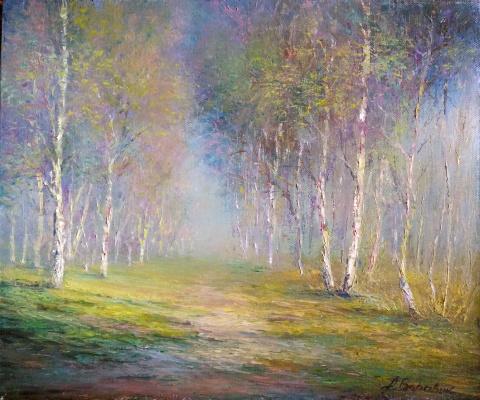 Andrei Ivanovich Boravik. Breath of spring