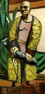 Max Beckmann. Self-portrait