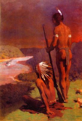 Томас Поллок Аншутц. Воины