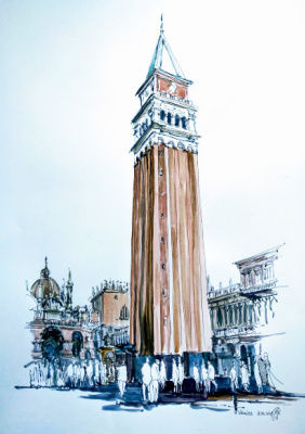 Yevheniia Samoilenko. Venice