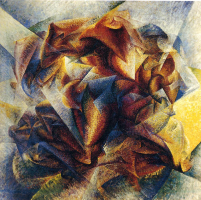 Umberto Boccioni. Plot 39