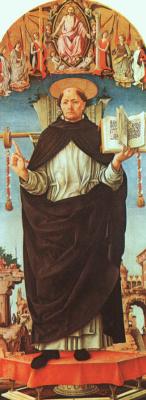 Франческо дель Косса. Святой
