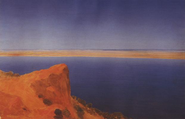 Arkhip Ivanovich Kuindzhi. Volga. A sketch of the eponymous unfinished paintings