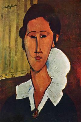 Amedeo Modigliani. Portrait of Anna Zboriv white collar crime