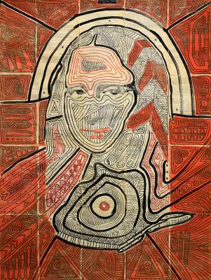 Marat Cherny. Mona Lisa 2019