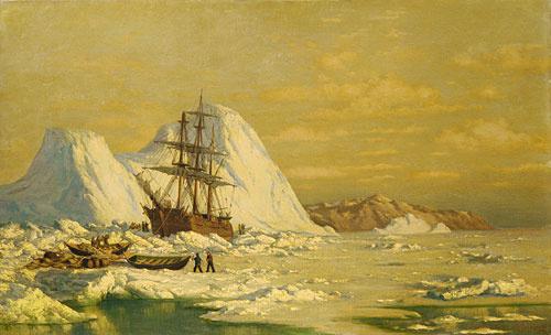 Уильям Брэдфорд. Снег