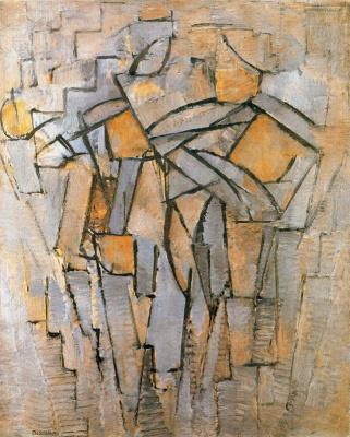 Piet Mondrian. Abstract composition