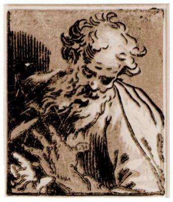 Abraham Bloomart. Saint Jerome