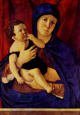 Джованни Беллини. Мадонна с младенцем на руках