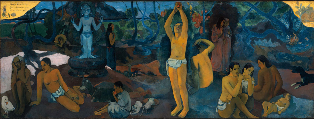 Paul Gauguin. Where did we come from? Who are we? Where are we going?