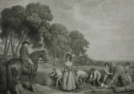 George Stubbs. The reapers