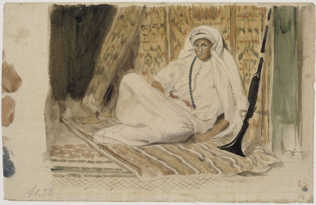 Эжен Делакруа. Юный араб в своей каморке