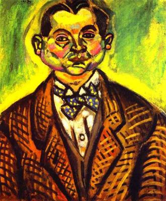 Joan Miro. Self-portrait