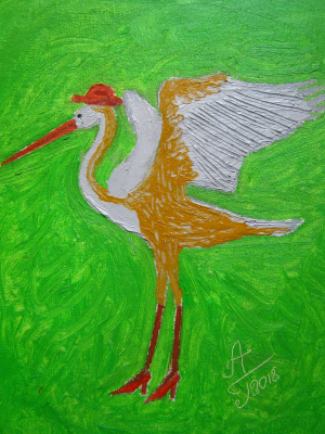 """Алексей Гришанков (Alegri). """"Танец Длинной Серой Цапли"""" (The Dance of Long Grey Heron)"""