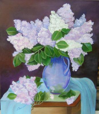 Любовь Викторовна Волобаева. Beloved lilac