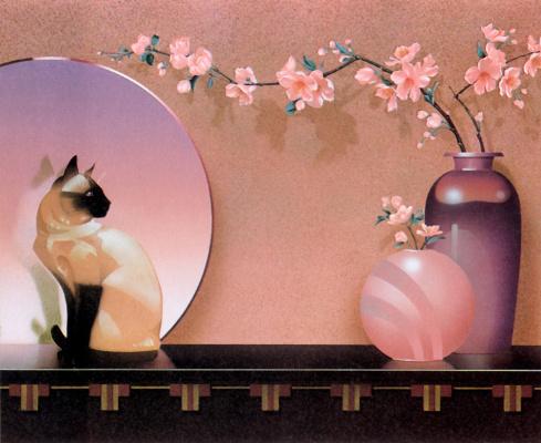 Кот и ваза