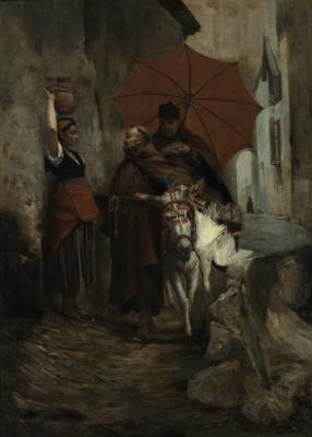 Жан Жорж Вибер. Под зонтом