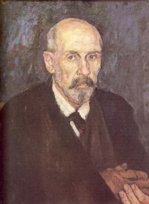 Vasily Ivanovich Surikov. A man with a sick hand