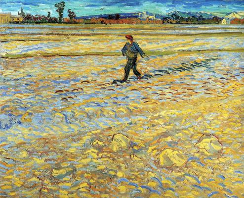 Vincent van Gogh. The sower
