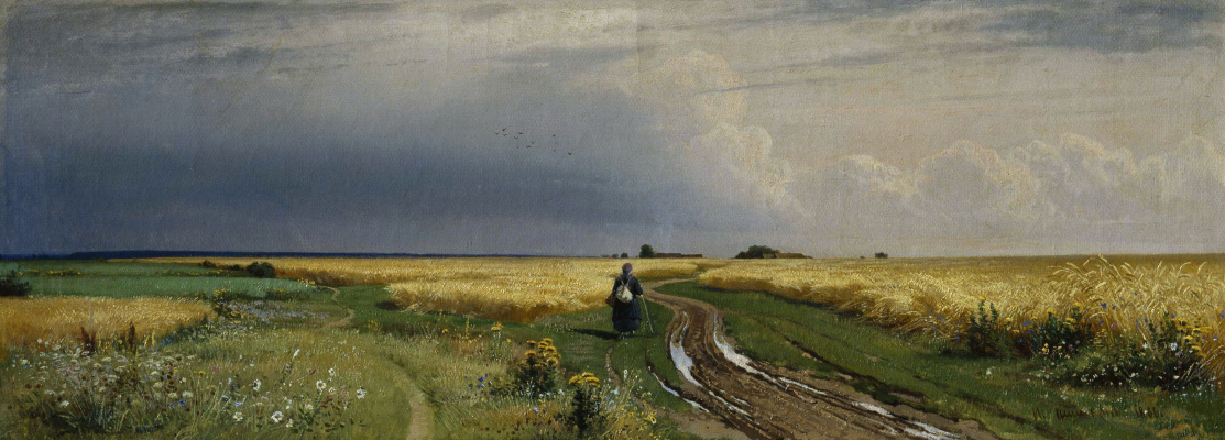 Ivan Ivanovich Shishkin. The road in the rye