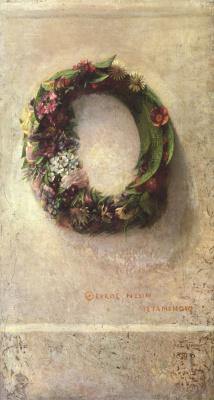 Джон Лафарг. Венок из цветов