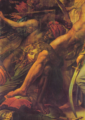 Анн-Луи Жироде де Русси-Триозон. Бунт в Каире