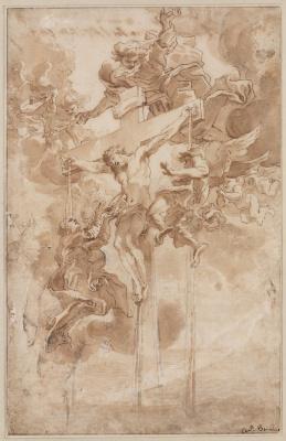 Gian Lorenzo Bernini. The Crucifixion Of Jesus Christ