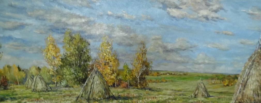 Victor Vladimirovich Kuryanov. The fields are silent