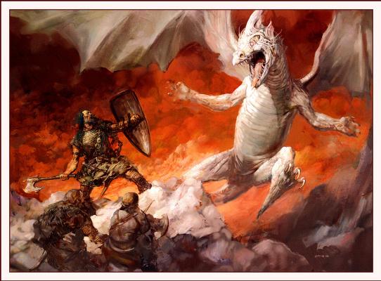 Джастин Свит. Бой с белым драконом