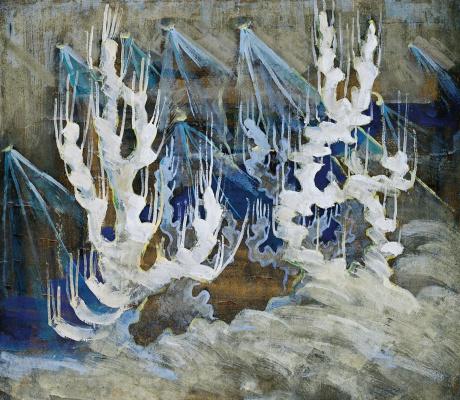 Mikalojus Konstantinas Ciurlionis. Winter II