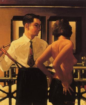 Jack Vettriano. Strangers in the night