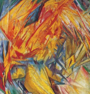 Mikhail Larionov. Cock. Radiant Study