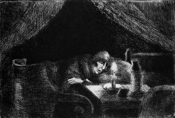 Camille Pissarro. Grandmother