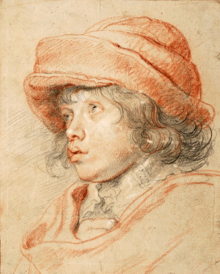 Peter Paul Rubens. Portrait Of Nicholas Rubens