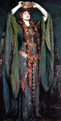 John Singer Sargent. Miss Ellen Terry as Lady Macbeth