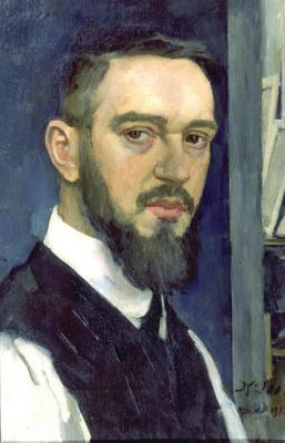 Константин Федорович Юон. Автопортрет. 1912