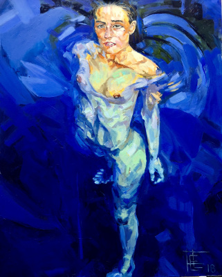 Lyuba Foma. Blue