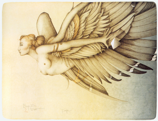 Michael Parkes. Night