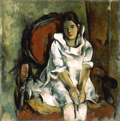 Александр Васильевич Шевченко. Портрет дочери художника. 1920