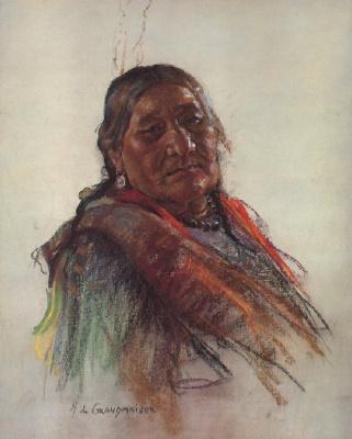 Николас де Гранмезон. Индейский портрет 56