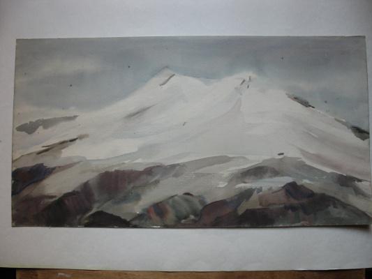 Svyatoslav Petrovich Skorobogatov. Elbrus