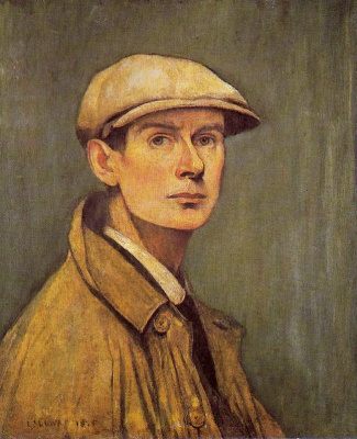 Lawrence Stephen Lowry. The man in the cap