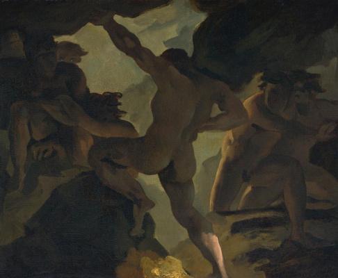 Théodore Géricault. Episode Battle of the Titans