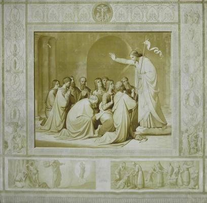 Johann Friedrich Overbeck. Sacrament of penance