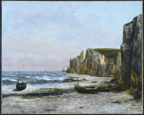 Gustave Courbet. Rocks