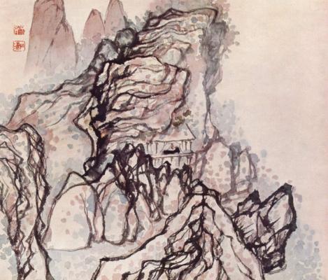 Tao Ji. In a house under a rock