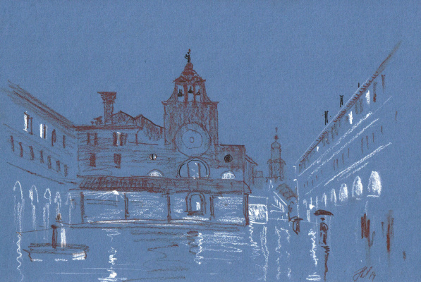 Andrey Noarov. Риальто ночью