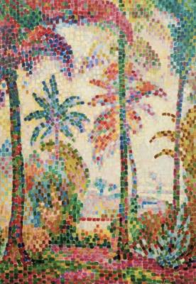 Jean Metzinger. Tropical landscape