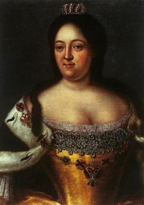 Иоганн Генрих Ведекинд. Портрет императрицы Анны Иоановны